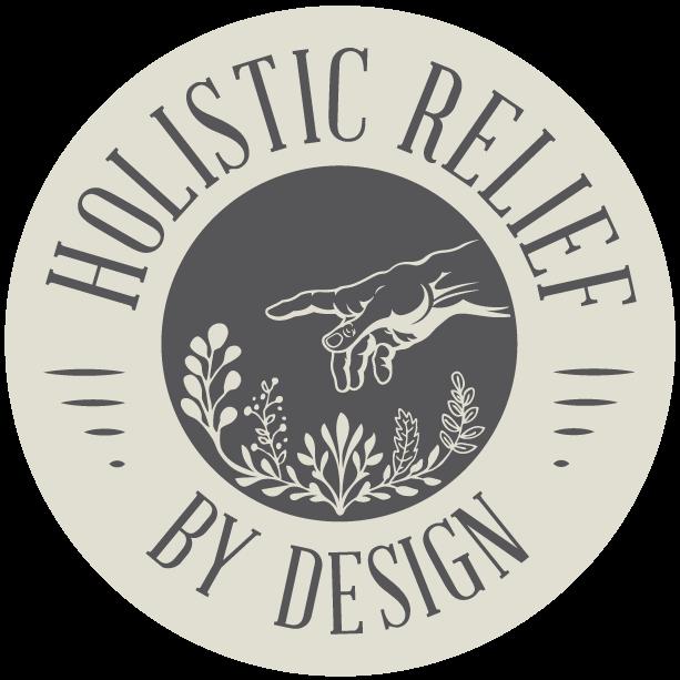 Holistic Relief By Design Header Logo