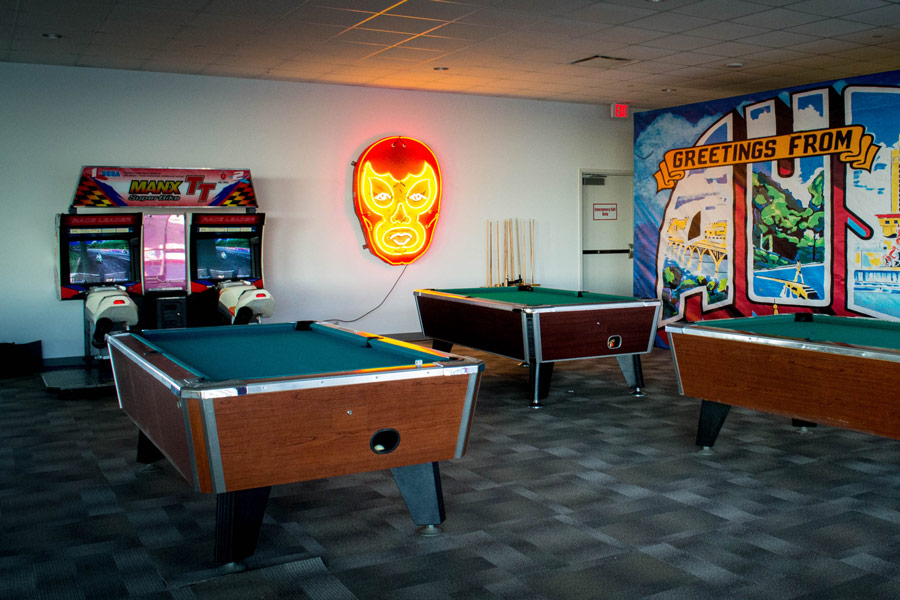 Pool Tables & Arcade Setup
