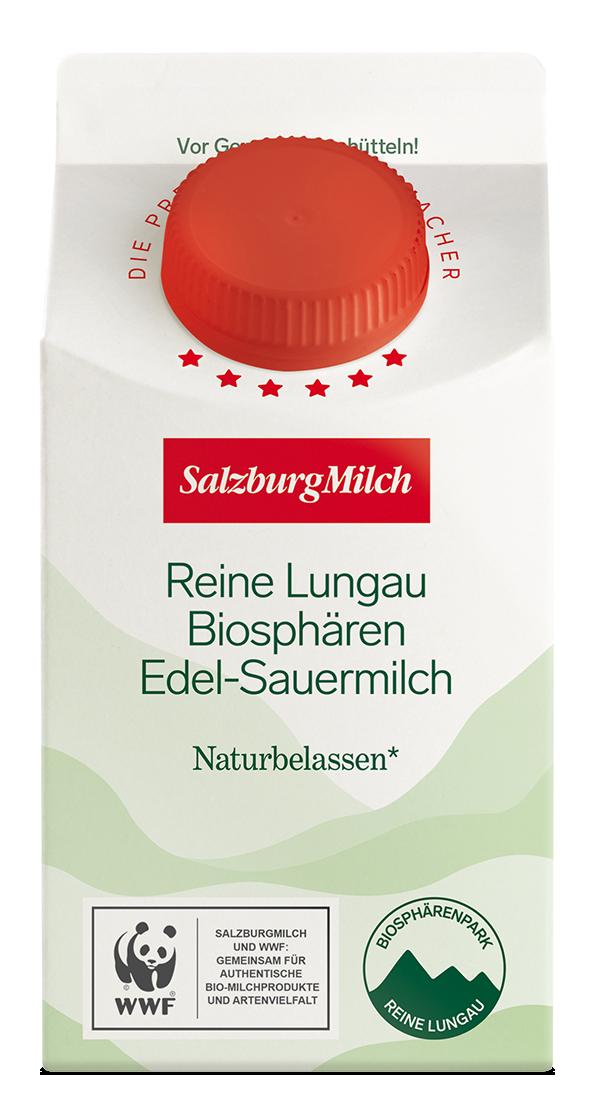 Reine Lungau Biosphären Edel-Sauermilch Packung