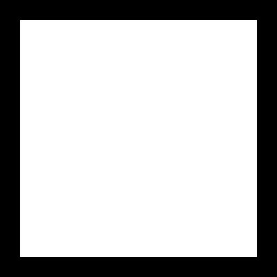 Dribbble Logo in   White