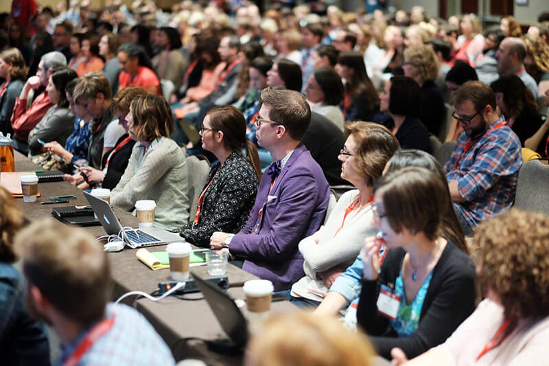 Audience at Confab
