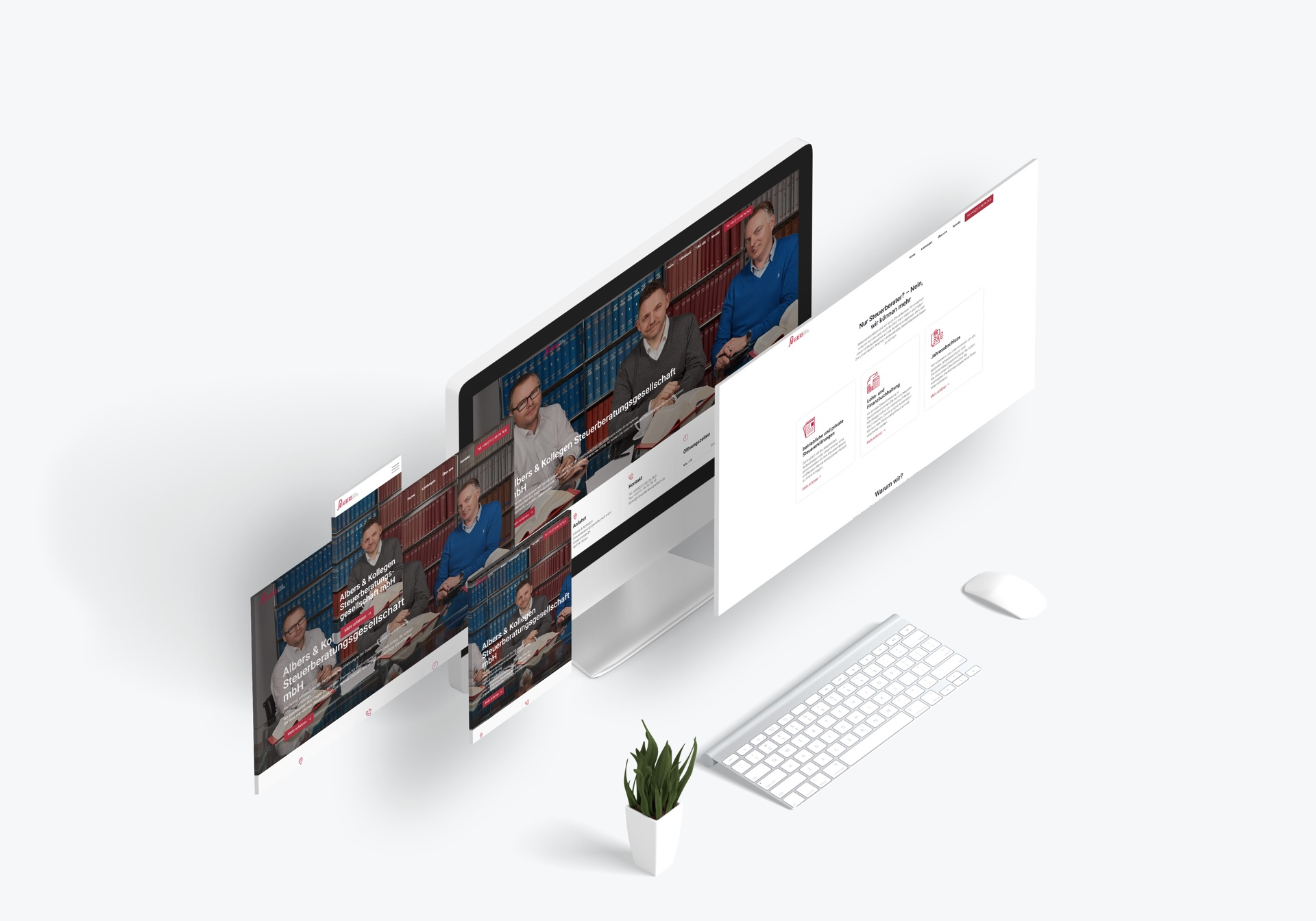 Webdesign Mockup Burkhrad Küpper