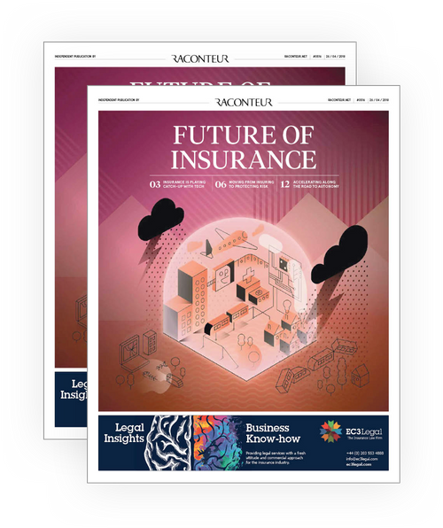 The Times 'Future of Insurance' Report front cover