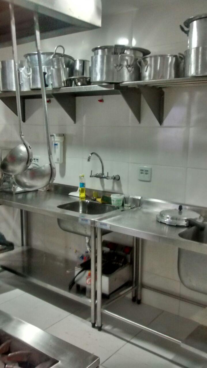 Cozinha Industrial Locou
