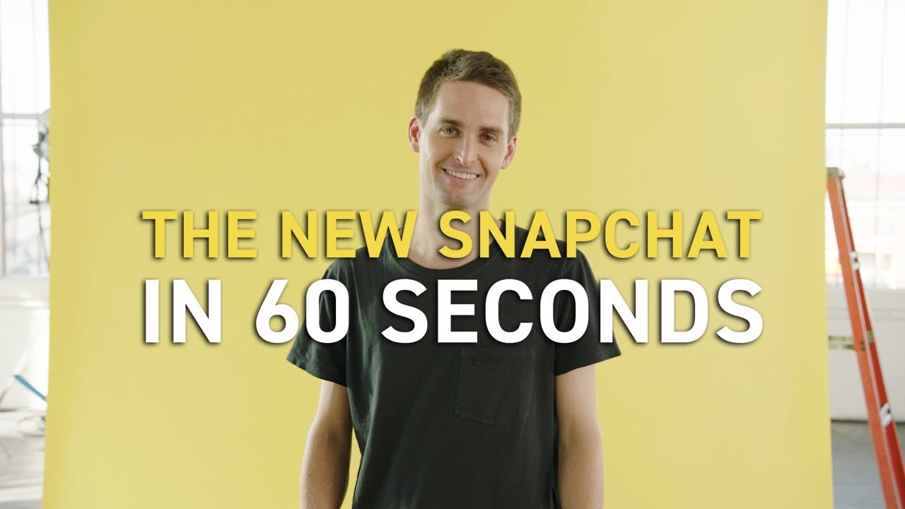 The New Snapchat Has Launched