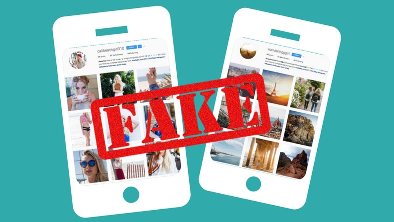 How to identify fake influencer profiles