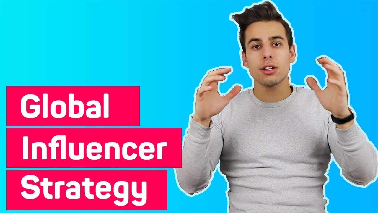 How to create a global influencer marketing strategy