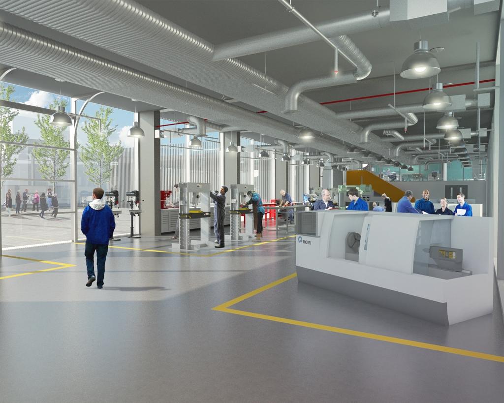 Engineering Innovation Centre Preston