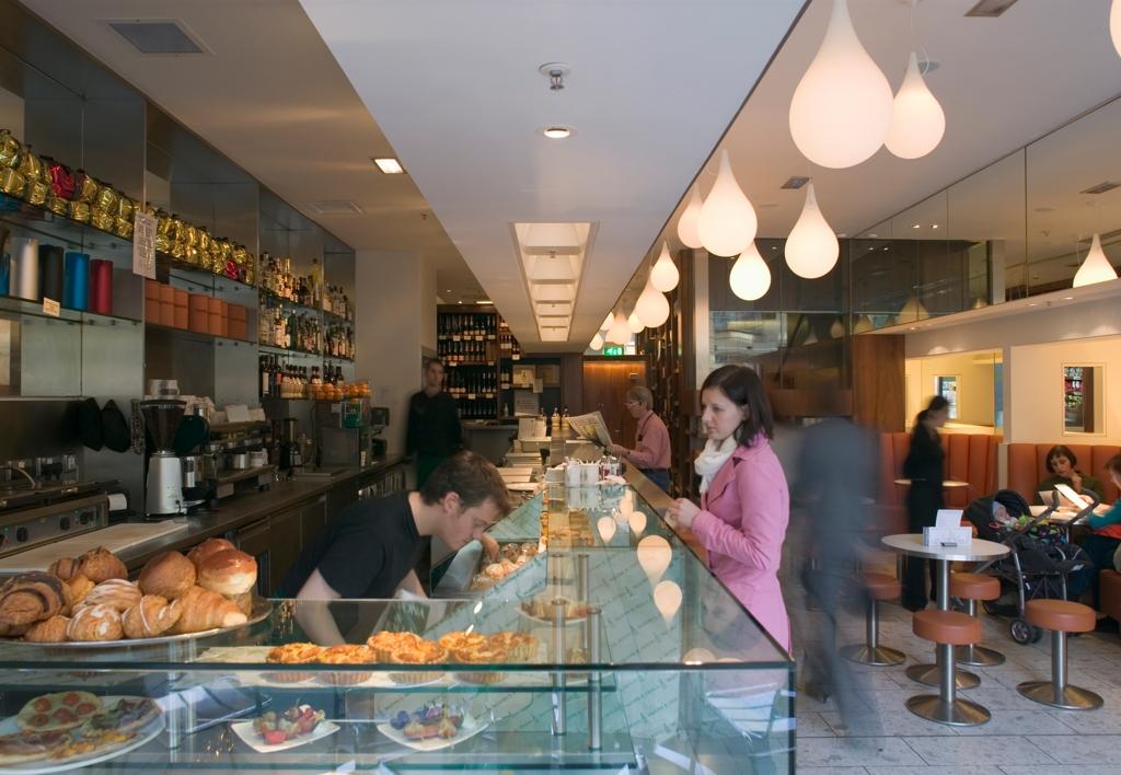 Vin Caffè Multrees Walk Edinburgh
