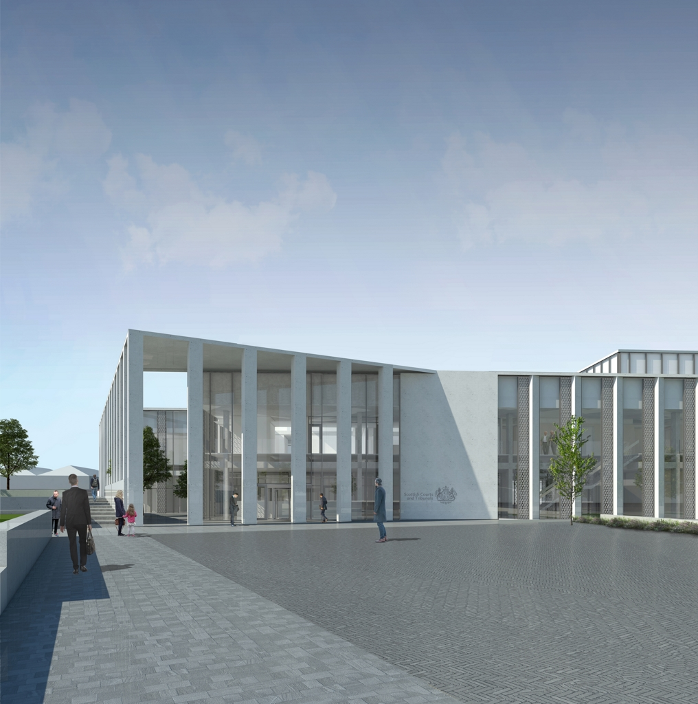 Work Starts on the New Inverness Justice Centre
