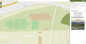 Parks Finder Map Application