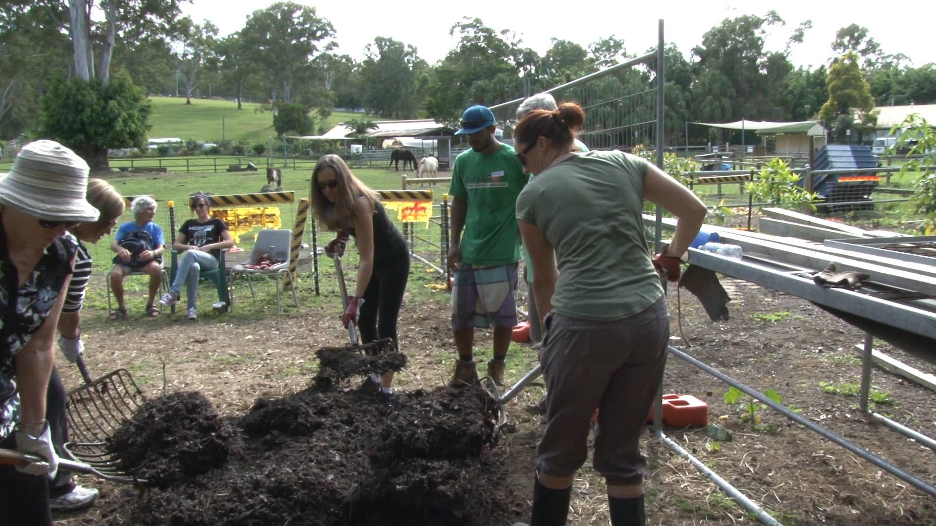 ediblescapes hot compost