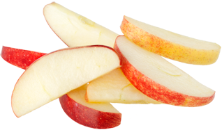 image of apple slices