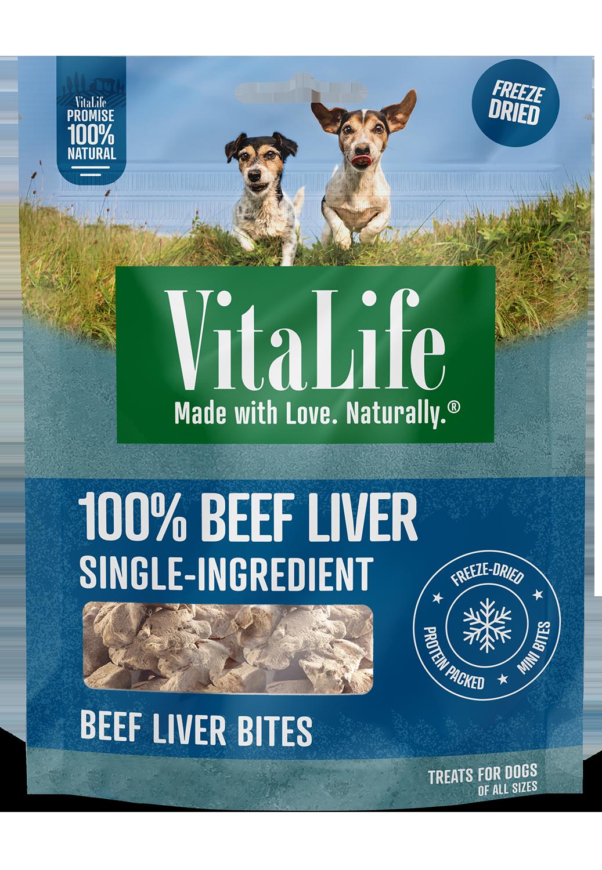 VitaLife beef liver bites pack image