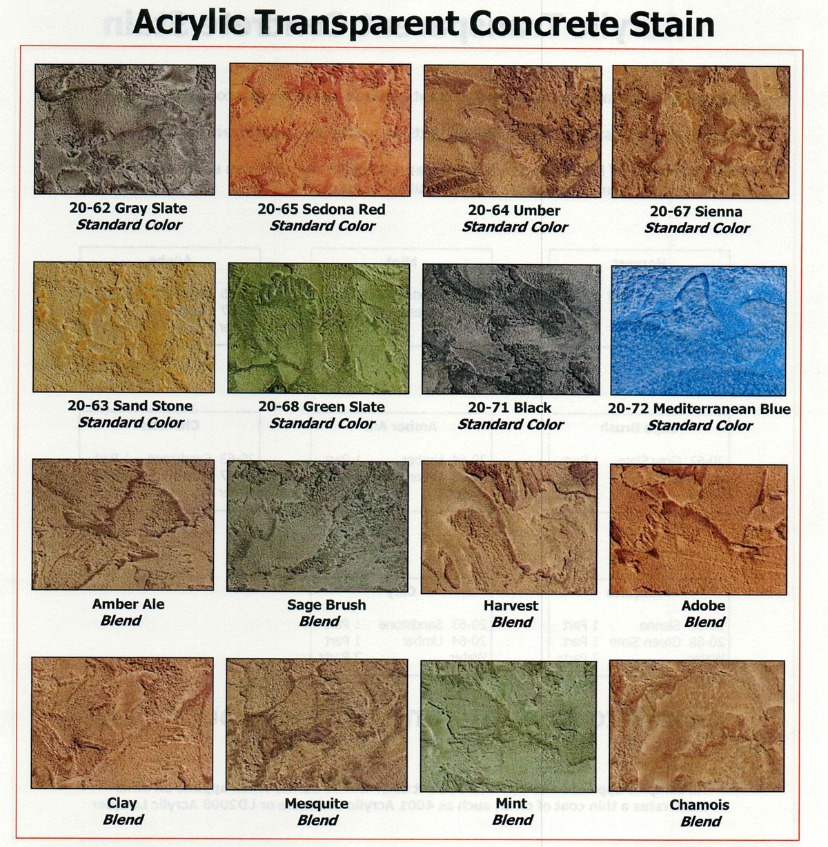 Concrete Stains
