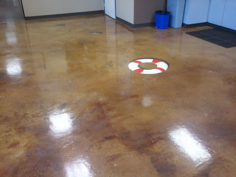 below grade flooring