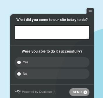 qualaroo exit survey