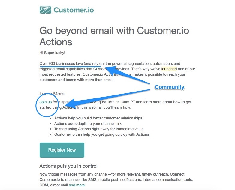 The 20 best product launch emails that reengage users this launch email leverages the social aspect of customer stopboris Gallery