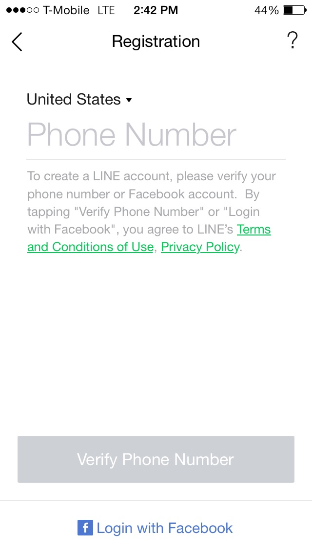 Line registration after IPO