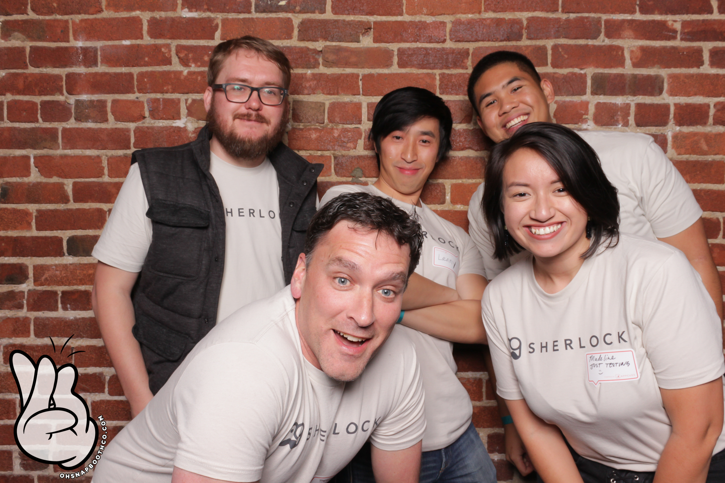 Kissmetric's Sherlock team at Drunk User Testing
