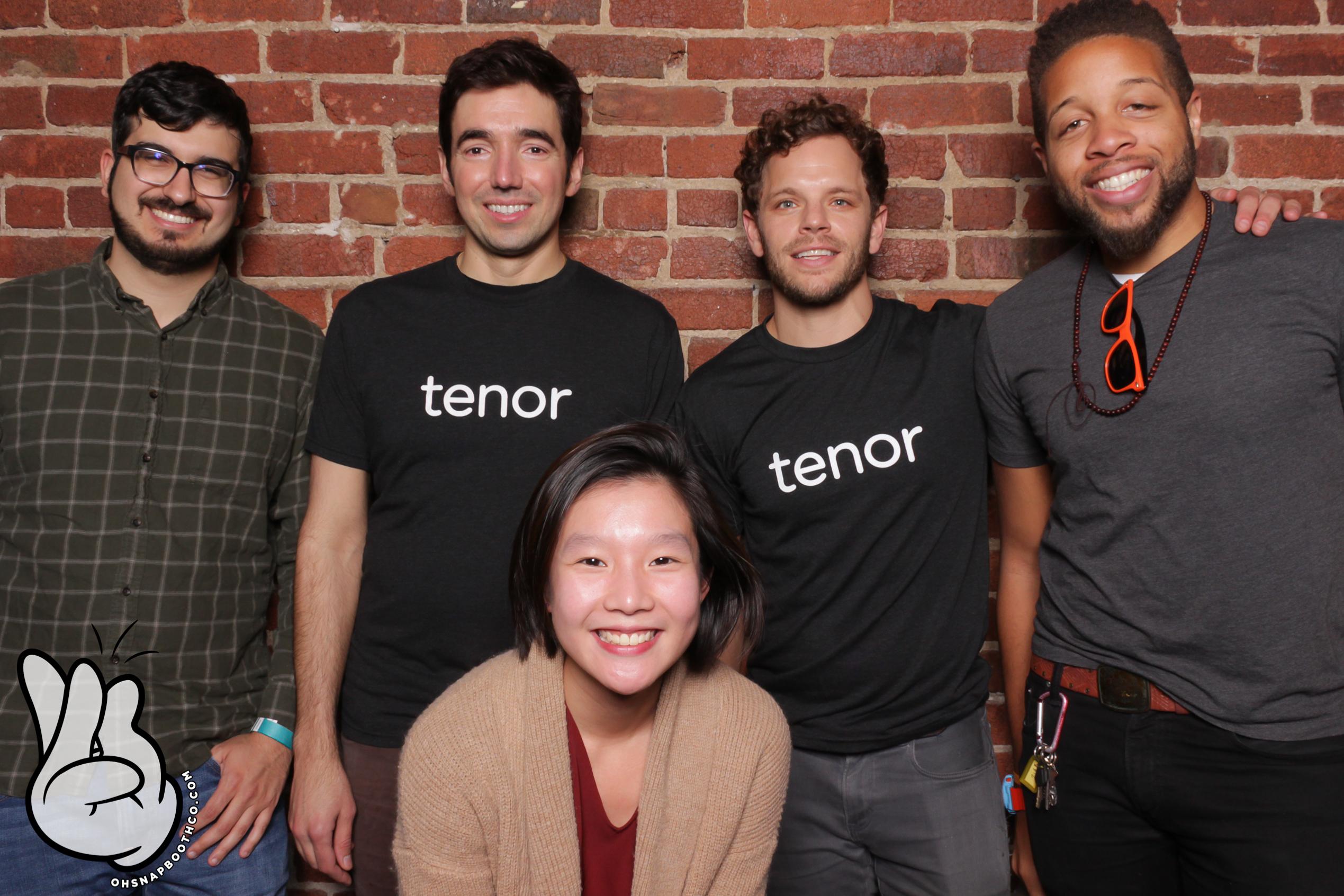 Tenor's team at Drunk User Testing