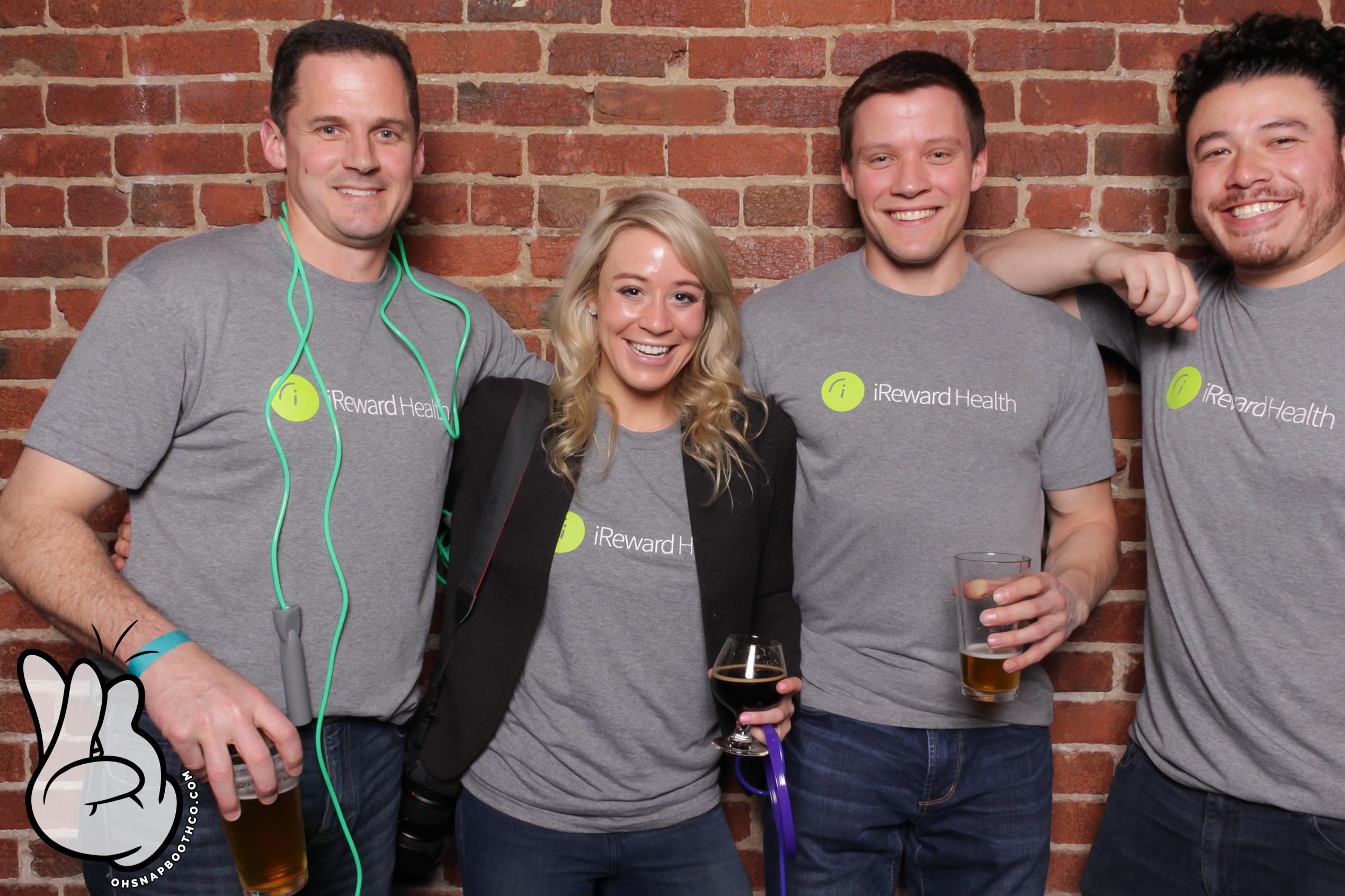 iReward Health's team at Drunk User Testing