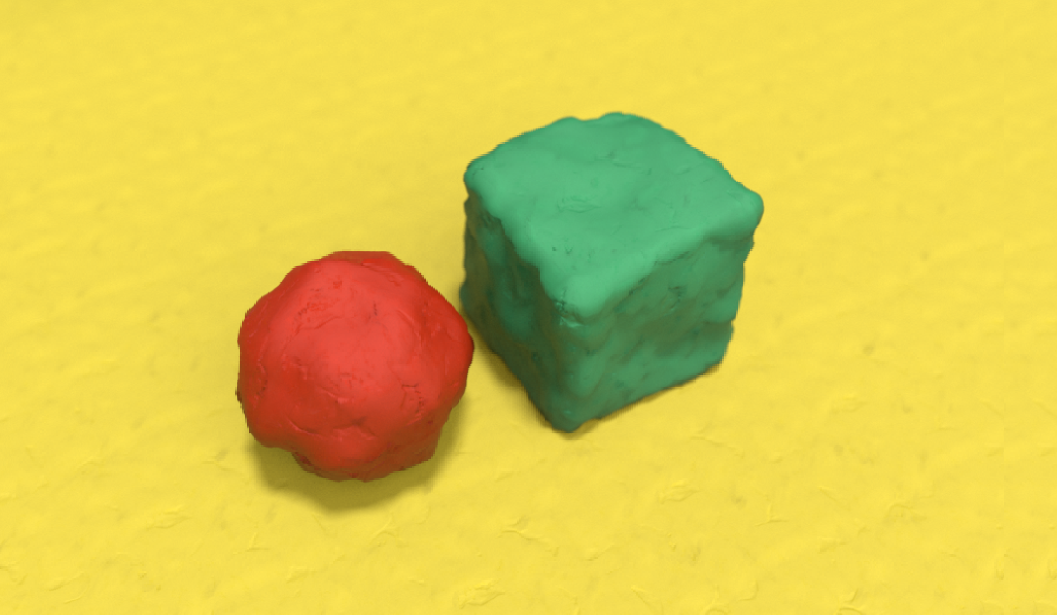 3d playdough shader on primitives