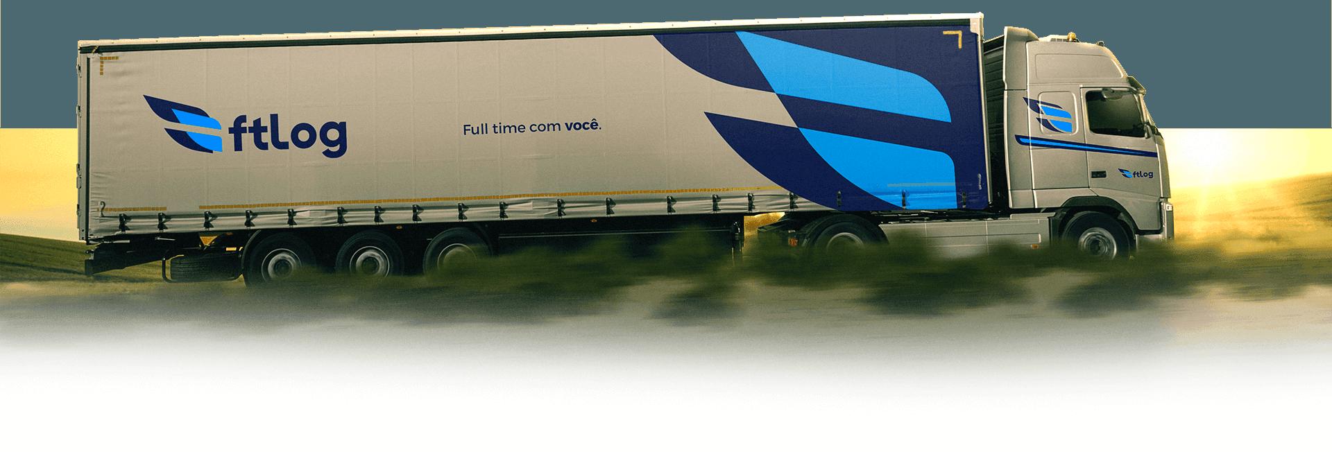 Caminhão da FT Log