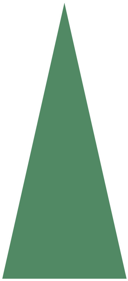 Triangle Christmas Tree