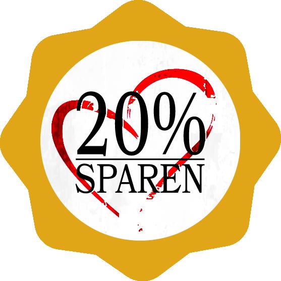 20% sparen