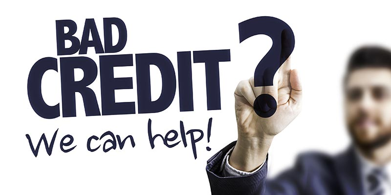 get a buy to let mortgage with bad credit history