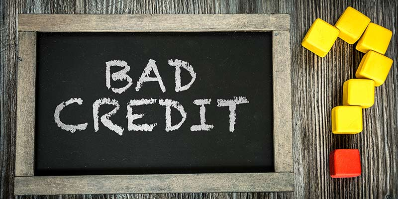 get a 2nd mortgage with bad credit history