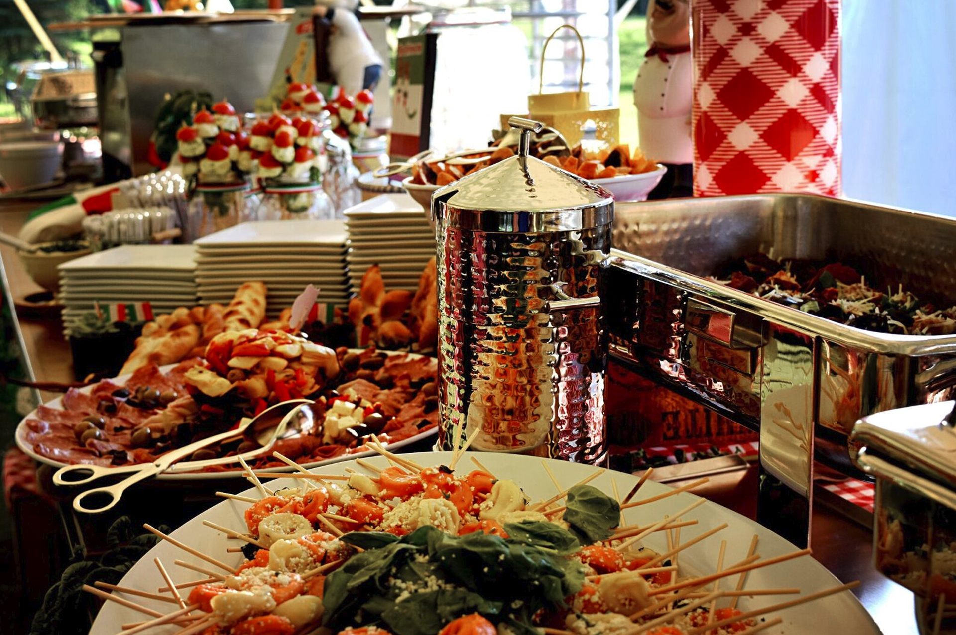 catering arrangement photo
