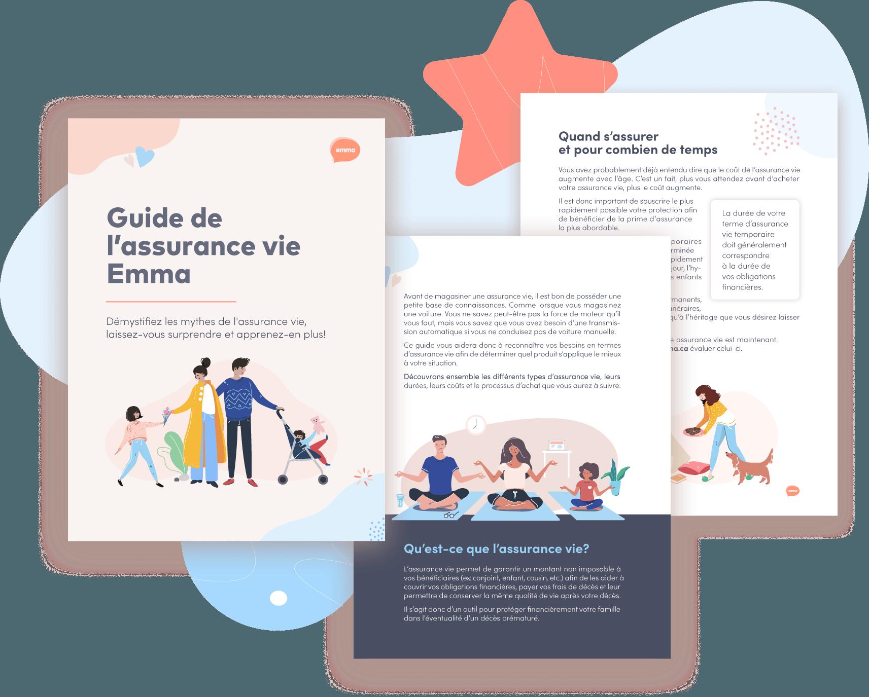 Preview Guide assurance vie Emma