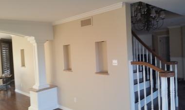 peinture intérieur d'une maison