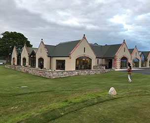 Photo of the clubhouse at The Carnegie Links at Skibo Castle