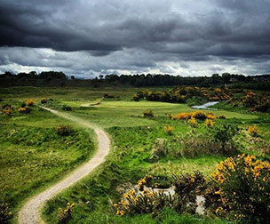 Photo of the course at Tain Golf Club