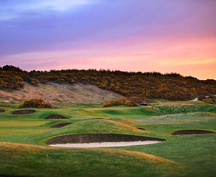 Photo of the course at Golspie Golf Club