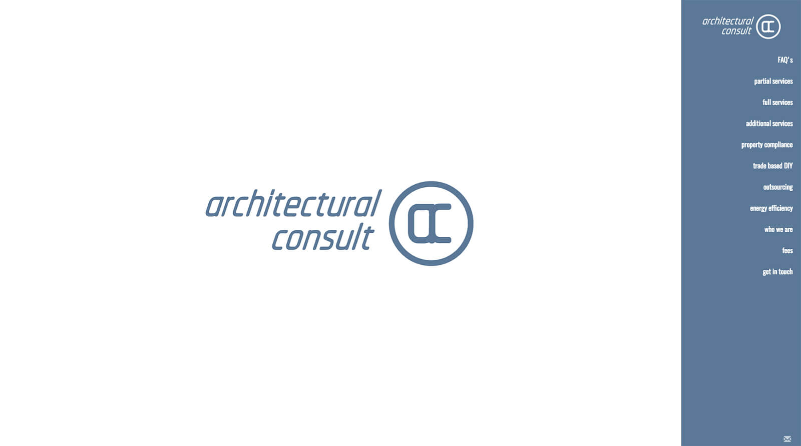 Custom Web Development for a registered Architectural Consult based in Port Elizabeth, South Africa