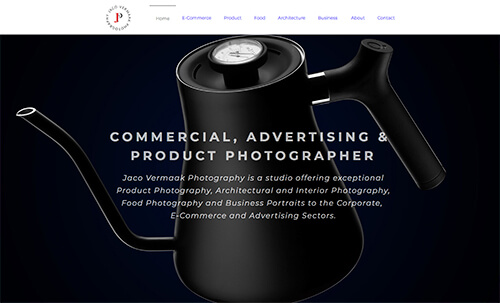 CMS website, SEO, Social Media Management for a professional photographer based in Port Elizabeth, South Africa