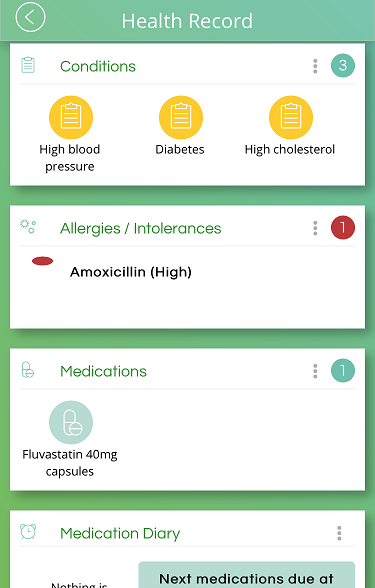 as your health and fitness stats into your personal health record with the evergreen life app all this info is available to you in the palm of your