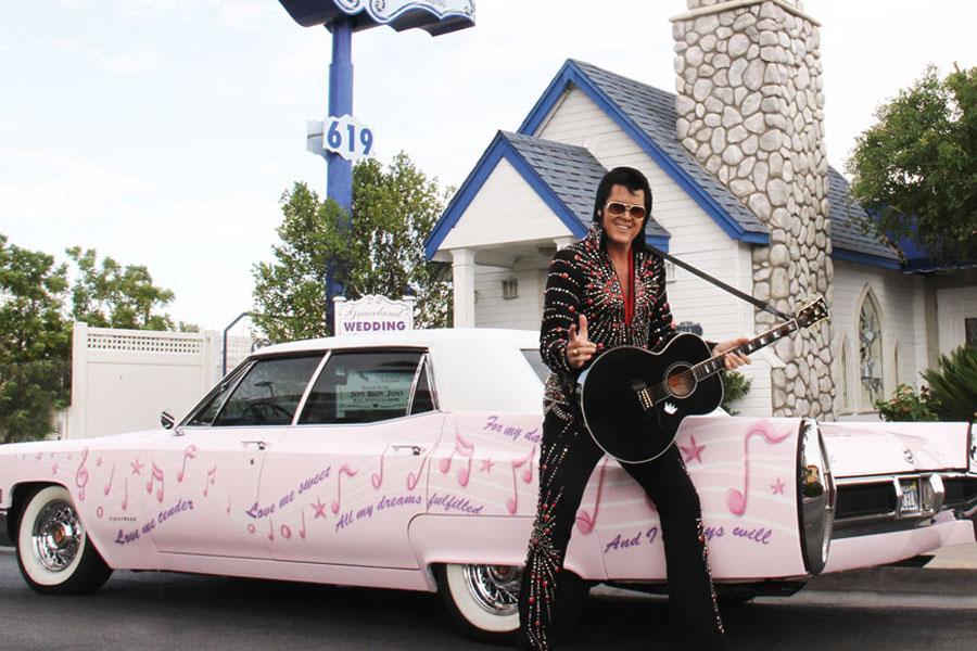 sposarsi a las vegas con Elvis