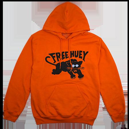 free huey — orange hoodie ce3baebe805