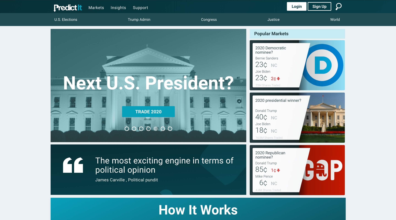 Screenshot of Predict It
