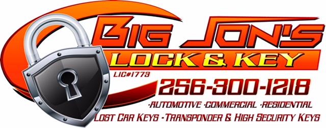Big Jon's Lock and Key logo