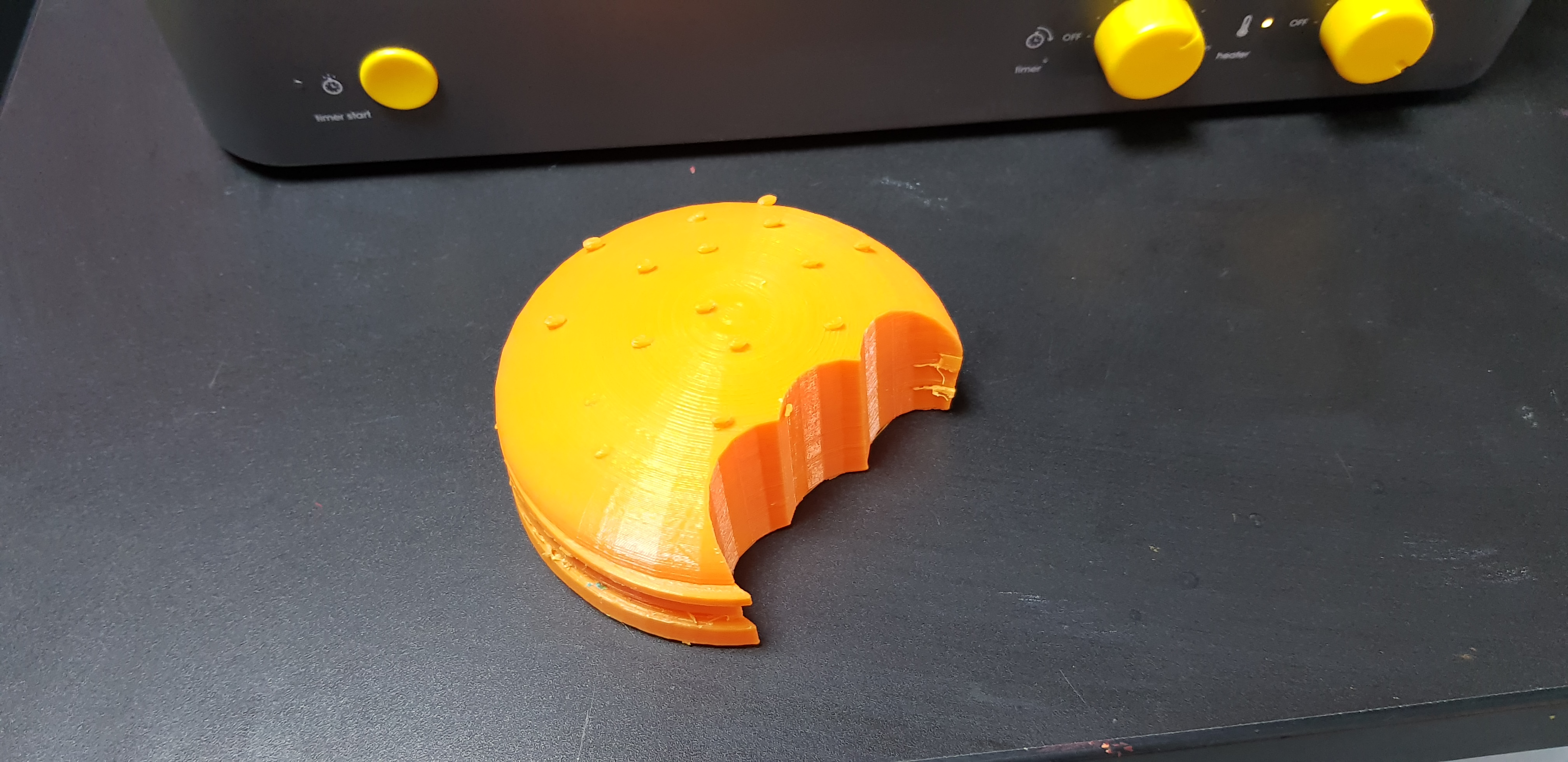 3D print ready for vacuum forming