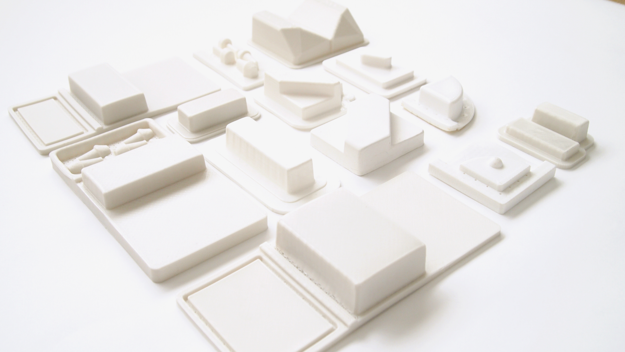 3D Printed Models for Vacuum Forming Packaging Designs