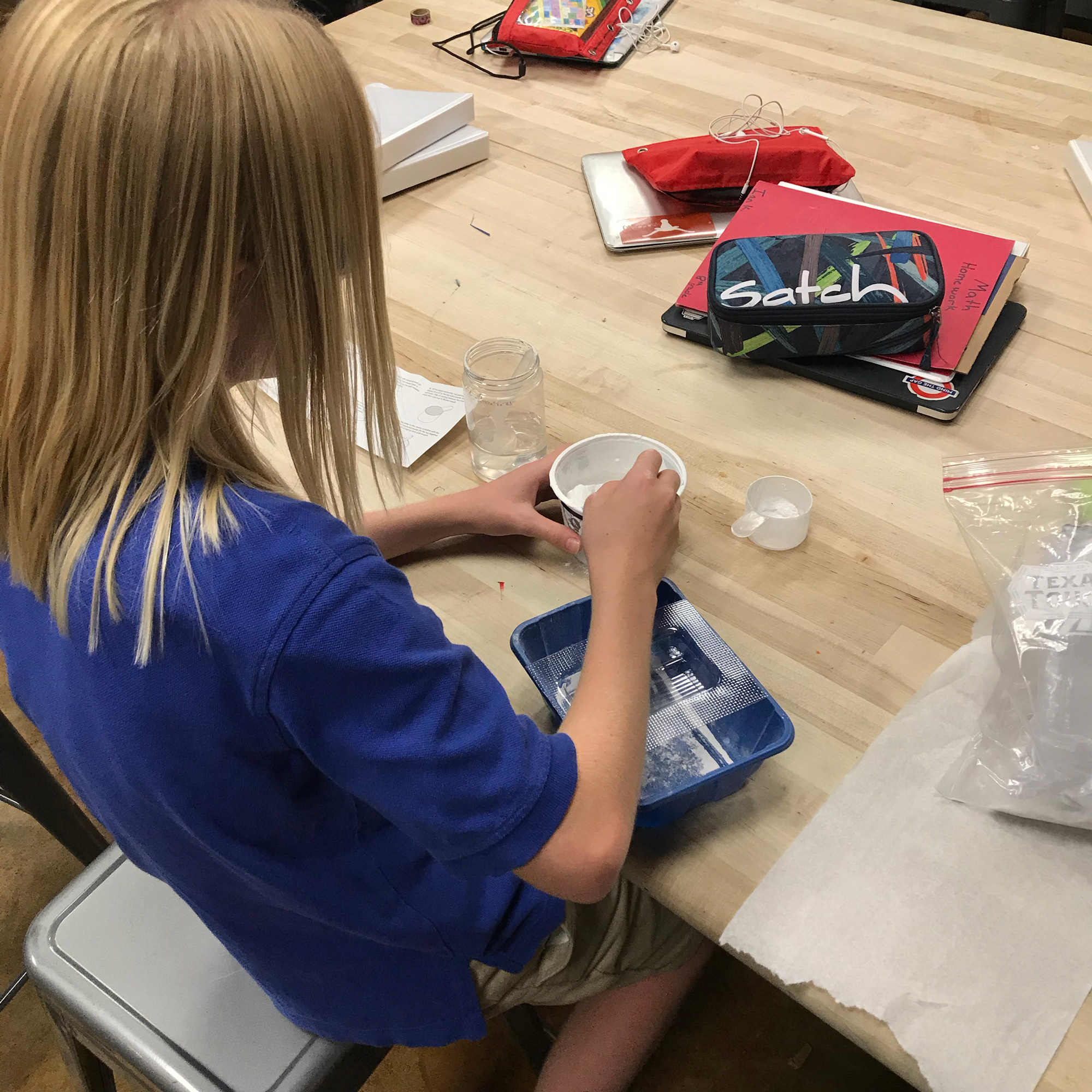 Learning STEAM with Vacuum Forming Technology and Crafts Projects