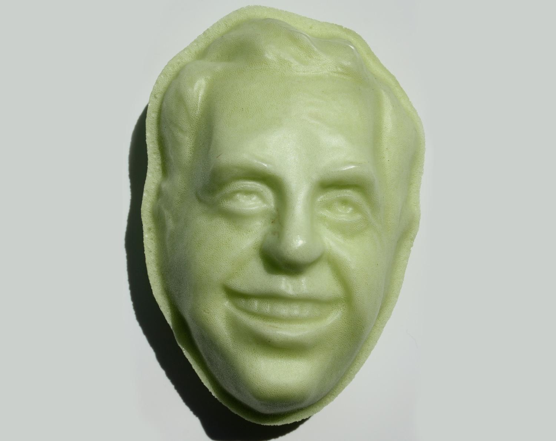 Les Paul Face Mold for a Foam Filled Stress Ball Design