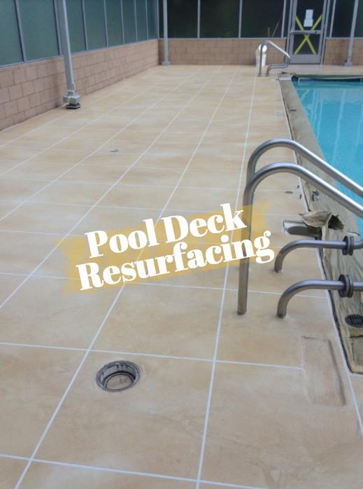 Outdoor Pool Deck Resurfacing